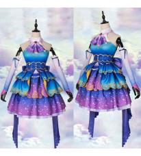 アイドルマスターシンデレラガールズ 橘 ありす シンデレラガールズ コスプレ衣装 パープル 紫 ドレス