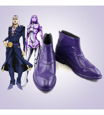 ジョジョの奇妙な冒険 レオーネ・アバッキオ 靴 コスプレ靴