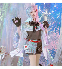 不思議の国のアリス アリス・イン・ワンダーランド チェシャ猫 コスプレ衣装 コスプレ衣装 コスチューム cosplay