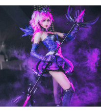 League of Legends LOL ラックス (Lux) 光の少女 コスプレ衣装 コスチューム