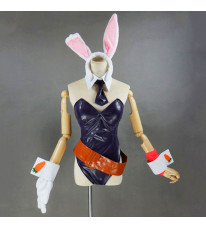 League of Legends lol リーグ・オブ・レジェンド Bunny Riven リヴェン チャンピオン 黒色 セクシー風 コスプレ衣装