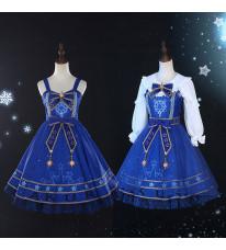 カードキャプターさくら クリアカード編 lolita 魔法星辰 木之本桜 コスプレ衣装