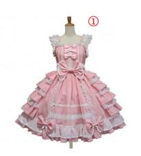 在庫 lolita ワンピース 宴会ドレス 多色 ロリータ コスチューム