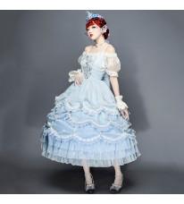 人魚姫 ワンピース チュールドレス 豪華版洋装