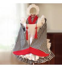 2016 新品メイド服 和風 メイド服 豪華セット コスプレ服 メイド服