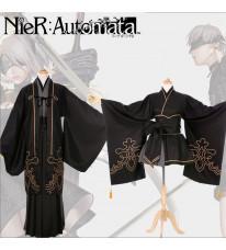 『ニーア オートマタ』(NieR:Automata) ヨルハ二号B型 コスプレ衣装 和服 浴衣 全セット