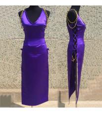 ワンピース ONE PIECE 奈美 なみ ゾウ ミンク族の衣装 礼服 セクシー風 紫色