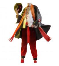 ONEPIECE ワンピース ルフィ 中国風 コスプレ衣装 ロング袖セット