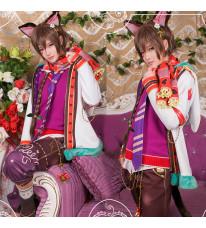 夢王国と眠れる100人の王子様 不思議の国 チェシャ猫 不思議のクリスマス コスプレ衣装