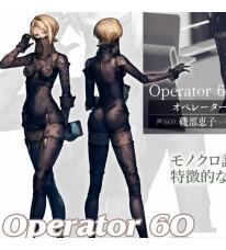 ニーア オートマタ オペレーター60 オペ60 コスプレ衣装