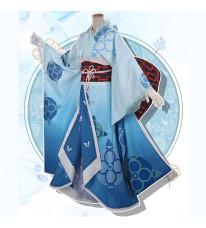 Re:ゼロから始める異世界生活 レム 着物 青色