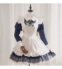 東方Project 十六夜咲夜 メイド服 クラシックメイド服 ショート丈