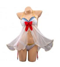 プリコネR プリンセスコネクト!Re:Dive エミリア コスプレ衣装 水晶ドレス