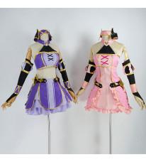 プリンセスコネクト!Re:Dive アカリ ヨリ ドレス 可愛 コスプレ衣装