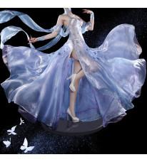Re:ゼロから始める異世界生活 エミリア コスプレ衣装 綺麗なドレス