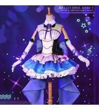 Re:ゼロから始める異世界生活  エミリア  アイドル ドレス コスプレ衣装 歌手