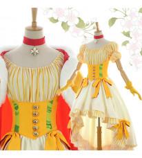 カードキャプターさくら 木之本桜 さくら 王様 コスチューム 王冠付 コスプレ衣装