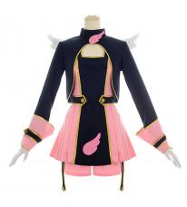 カードキャプターさくら 木之本桜 さくら ピンク+ブラック 戦闘服 コスチューム