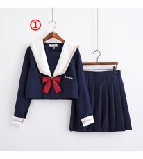 制服 jk コスプレ衣装 日常風 セーラー服 蝶ネクタイ