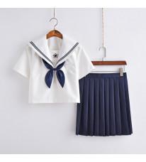 制服 セーラー服 jk コスプレ衣装 日常風  高校生 学生 中学 女子校生 通学 学校 スクール 学生服