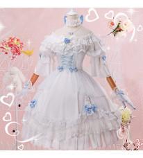 VOCALOIDボーカロイド 洛天依 (ルオ.テンイ)ローズ花嫁 洋服風 ドレス コスプレ衣装