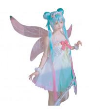 初音ミク 妖精風の衣装 可愛いドレス