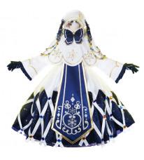 2021 ボーカロイド 初音ミク 魔法 雪ミク コスプレ衣装  仮装
