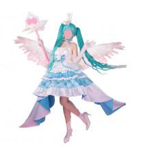ボーカロイド 初音ミク Sweet Angel 13周年 miku 誕生日礼服 コスプレ衣装