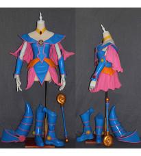 遊☆戯☆王 ブラック·マジシャン·ガール BMG コスプレ衣装 セット ピンク ブルー
