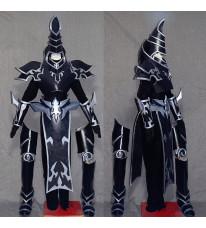 遊☆戯☆王 ブラック·マジシャン コスプレ衣装 セット 武器付き ブラック コスプレ道具