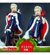 フェイト/グランドオーダー Fate/grand order 黑saber セイバー クリスマスサンタ ドレス クリスマス コスプレ衣装