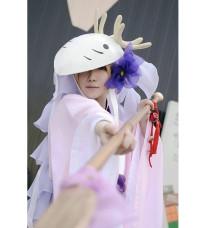 夏目友人帳 豊月神 鹿角マスク コスプレアクセサリー