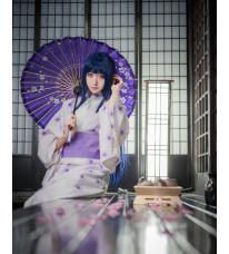NARUTO-ナルト- 疾風伝 日向ヒナタ 和服 着物 コスプレ衣装
