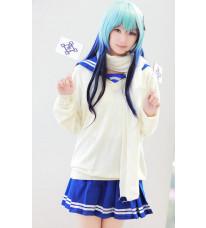 ぬらりひょんの孫 雪女 及川氷麗(おいかわつらら) 学生服 コスプレ衣装