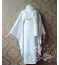 高品質衣装 ぬらりひょんの孫 雪女 ゆきめ 及川氷麗(おいかわつらら) 和服 コスプレ