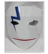 コスプレ道具 黒の契約者 李舜生(リ・シェンシュン)風 裂け紋があるマスク