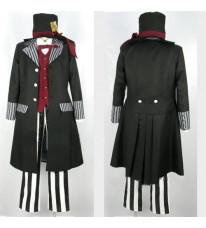 黒執事 葬儀屋風 コスプレ衣装