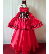 VOCALOID(ボーカロイド)派生 悪ノ娘 悪食娘コンチータ - 悪ノ大罪ノベルシリーズ バニカ=コンチータ MEIKO メイコの衣装  コスプレ衣装