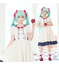 VOCALOID ボーカロイド 初音ミク 白雪姫ブランシュネージュ MIKU初音ミク コスプレ衣装 コスチューム 日常服