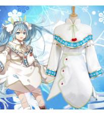 VOCALOID ボーカロイド 初音ミク 雪ミク2015 コスプレ衣装