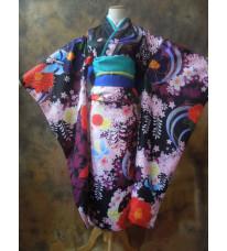 地獄少女 閻魔あい(えんま あい) コスプレ衣装 コスチューム 和服 着物 高品質