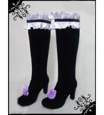 コスプレ靴 ローゼンメイデン Rozen Maiden 薔薇乙女 水銀燈 すいぎんとう / Mercury Lampe ブーツ
