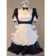 アニメ とある科学の超電磁砲風 御坂美琴 白井黒子メイド服 コスプレ衣装
