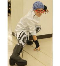 ジョジョの奇妙な冒険 第5部 ギアッチョ風 コスプレ 衣装