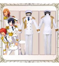 豪華版 うたの☆プリンスさまっ・  Shining All Star CD RAINBOW☆DREAM風 コスプレ衣装 白軍服