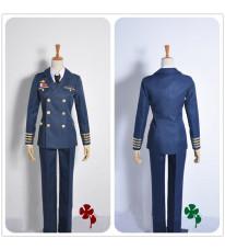 コスプレ 衣装 うたの☆プリンスさまっ・ Shining Airlines 先輩パイロット 美風藍 機長制服 コスチューム