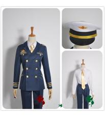 コスチューム うたの☆プリンスさまっ・ Shining Airlines 新人パイロット 一十木音也 副機長制服  コスプ衣装