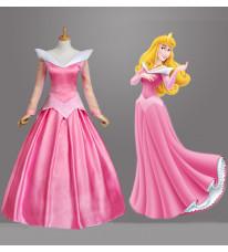 ディズニープリンセス Disney Sleeping Beauty 眠れる森の美女 オーロラ姫 ドレス コスプレ衣装 舞台衣装