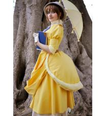 ディズニー版『ターザン』 Tarzan Jane ジェーン・ポーター  コスプレ衣装  メイド  ドレス