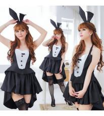 パーティー セクシーな猫の女の子COS 猫の女の子用衣装 バニー ハロウィーン大人用 レディコスチュム